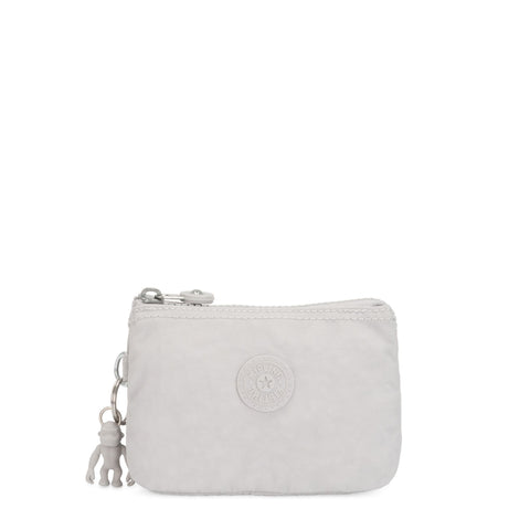 Kipling Creativity S Purse - Curiosity Grey