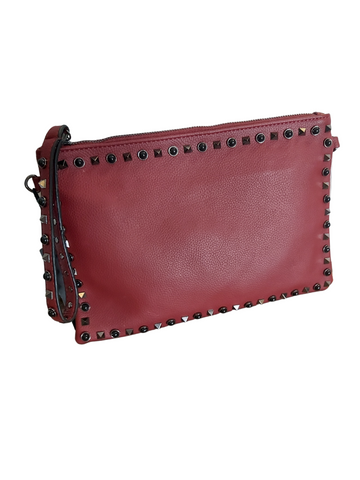 Stud clutch bag