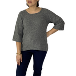 Plain knit jumper