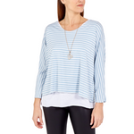 Two in One Stripe Long Sleeve Top