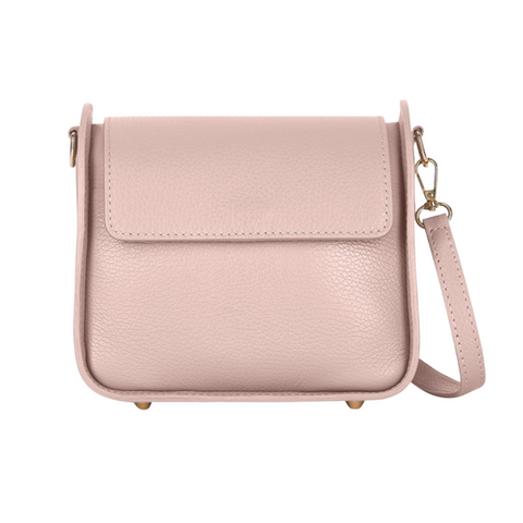 Pure White Leather Structured Handbag - Available in a selection of colours