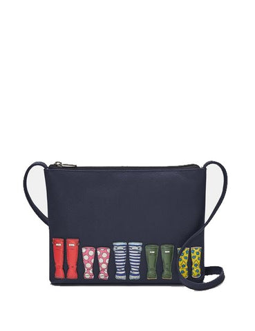 Yoshi Rainy Day cross body bag Navy