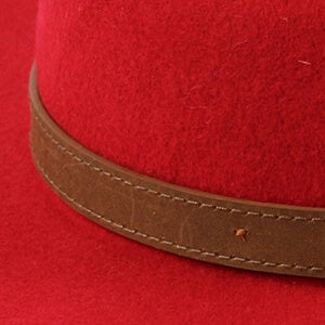 Fedora Wool Hat in Assorted Colours