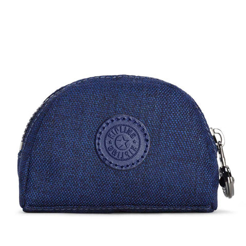 Kipling Trix Coin Purse Cotton Indigo
