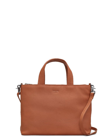 Yoshi Hampton Multiway Leather Grab Bag Tan