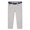 Mayoral boys Chinese pique belt pants-Pants-Bambini Emporio