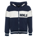 Monnalisa boys tracksuit top with hood-Tracksuit Top-Bambini Emporio