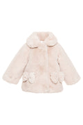 Monnalisa baby girls fur coat.-Accessory-Bambini Emporio