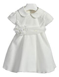 Ciccino baby girls Bovino Bianco ceremony dress-Dress-Bambini Emporio
