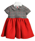 Ciccino baby girls rubino check dress-Dress-Bambini Emporio