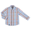 Mayoral boys long sleeve checked shirt-Shirt-Bambini Emporio