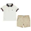 Mayoral baby boys printed polo short set-Polo-set-Bambini Emporio