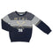 Mayoral boys Instarsia striped sweater-Jumper-Bambini Emporio