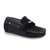 Mayoral Baby Boys Velcro Leather Deck Shoes-Shoes-Bambini Emporio