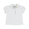 Mayoral baby girls short sleeve polo t-shirt-Polo-Bambini Emporio