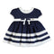 Mayoral Baby Girls Short Sleeve Satin Dress-Dress-Bambini Emporio