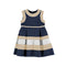 Mayoral Girls Blue Decorative Dress-Dress-Bambini Emporio