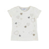 Mayoral girls short sleeve hearts t-shirt-T-Shirt-Bambini Emporio
