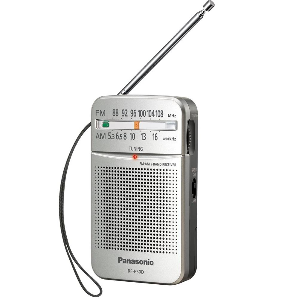 Radio Panasonic Portatil RF-P50 Original AM/FM