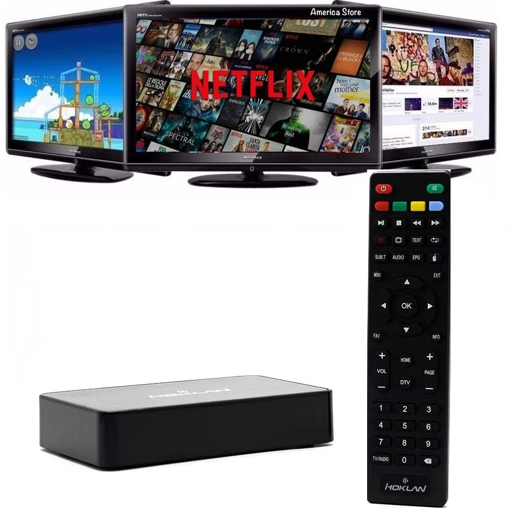 Tv Box Hoklan Convierte Tu Tv En Smart + Tdt