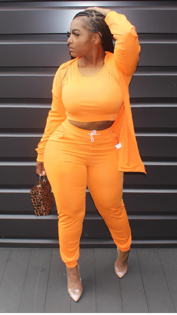 Orange Sicle Set - HauteKulture