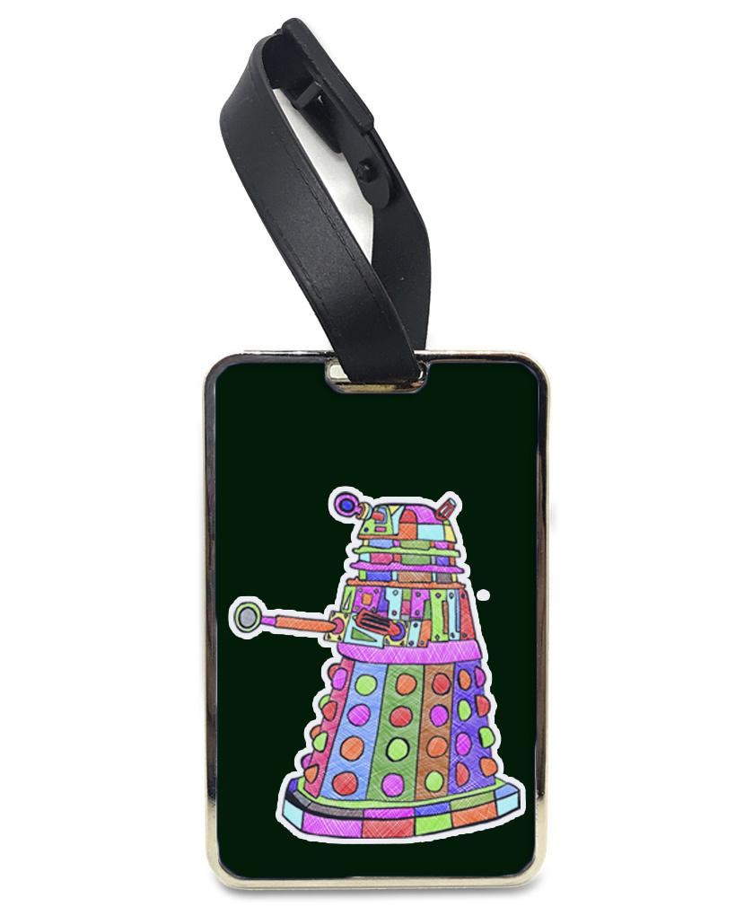 Exterminate - Rainbow Luggage and Bag Tag