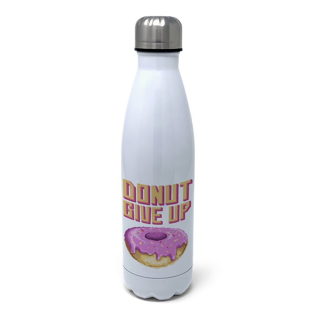 Donut Give Up Insulated Water Bottle Insulated Water Bottles Hot Merch