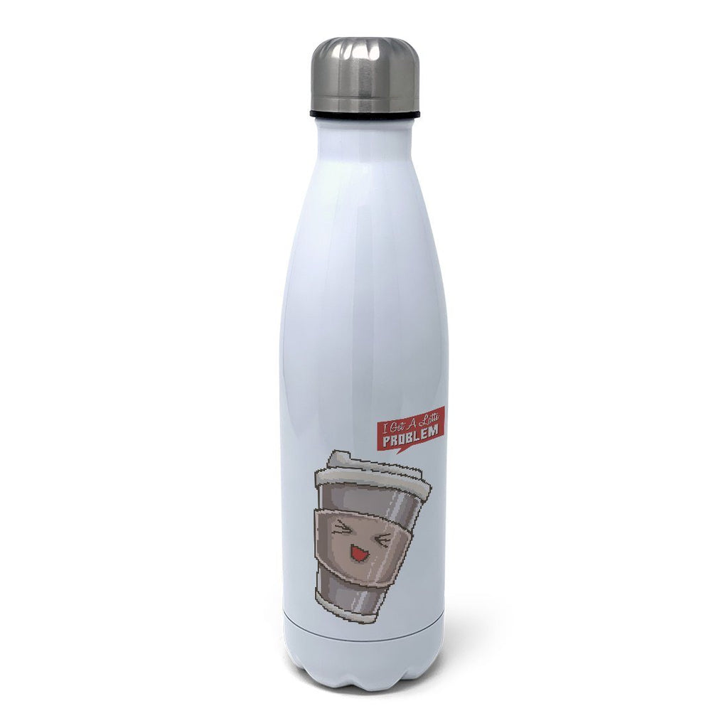 Latte Problems Insulated Water Bottle Insulated Water Bottles Hot Merch