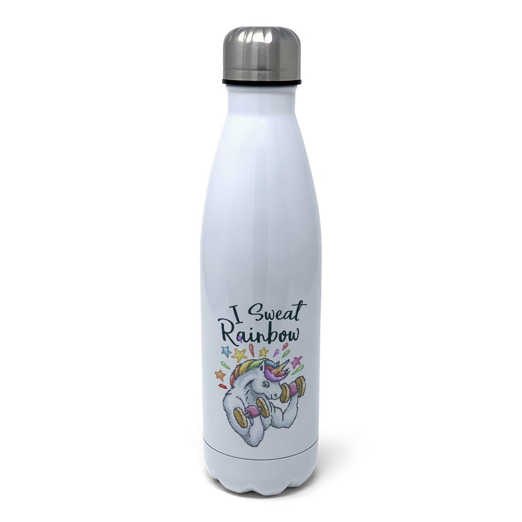 I Sweat Rainbow Insulated Water Bottle Insulated Water Bottles Hot Merch