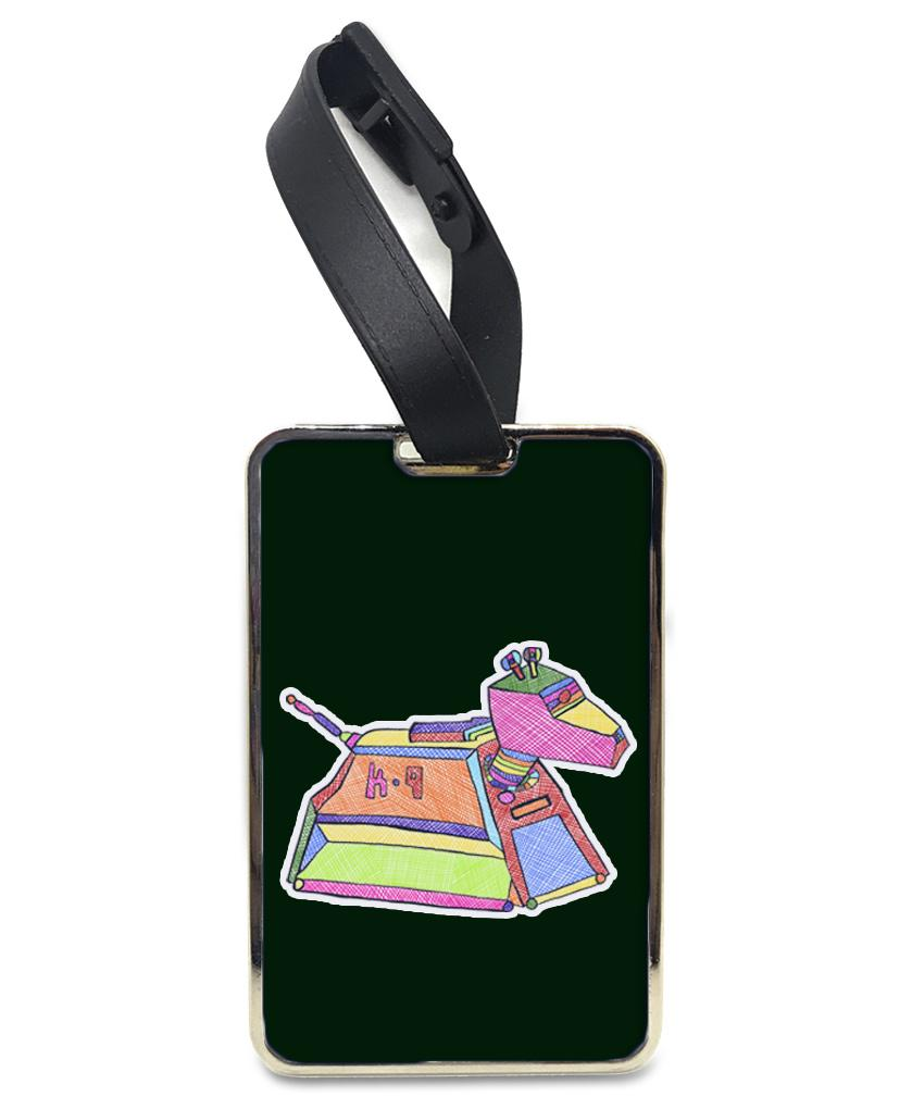 Canine - K9 Rainbow Luggage and Bag Tag Bag Tag Hot Merch