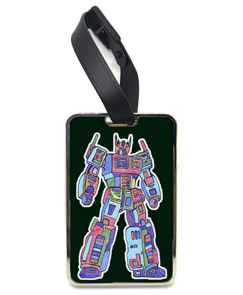 Optimal Pride - Rainbow Luggage and Bag Tag Bag Tag Hot Merch