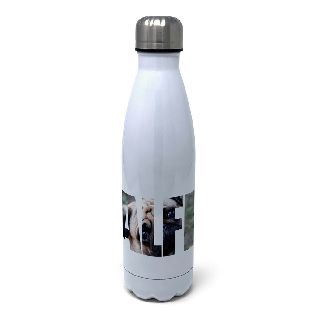 Make Your Own Photo Name Personalised Insulated Water Bottle Insulated Water Bottles Hot Merch