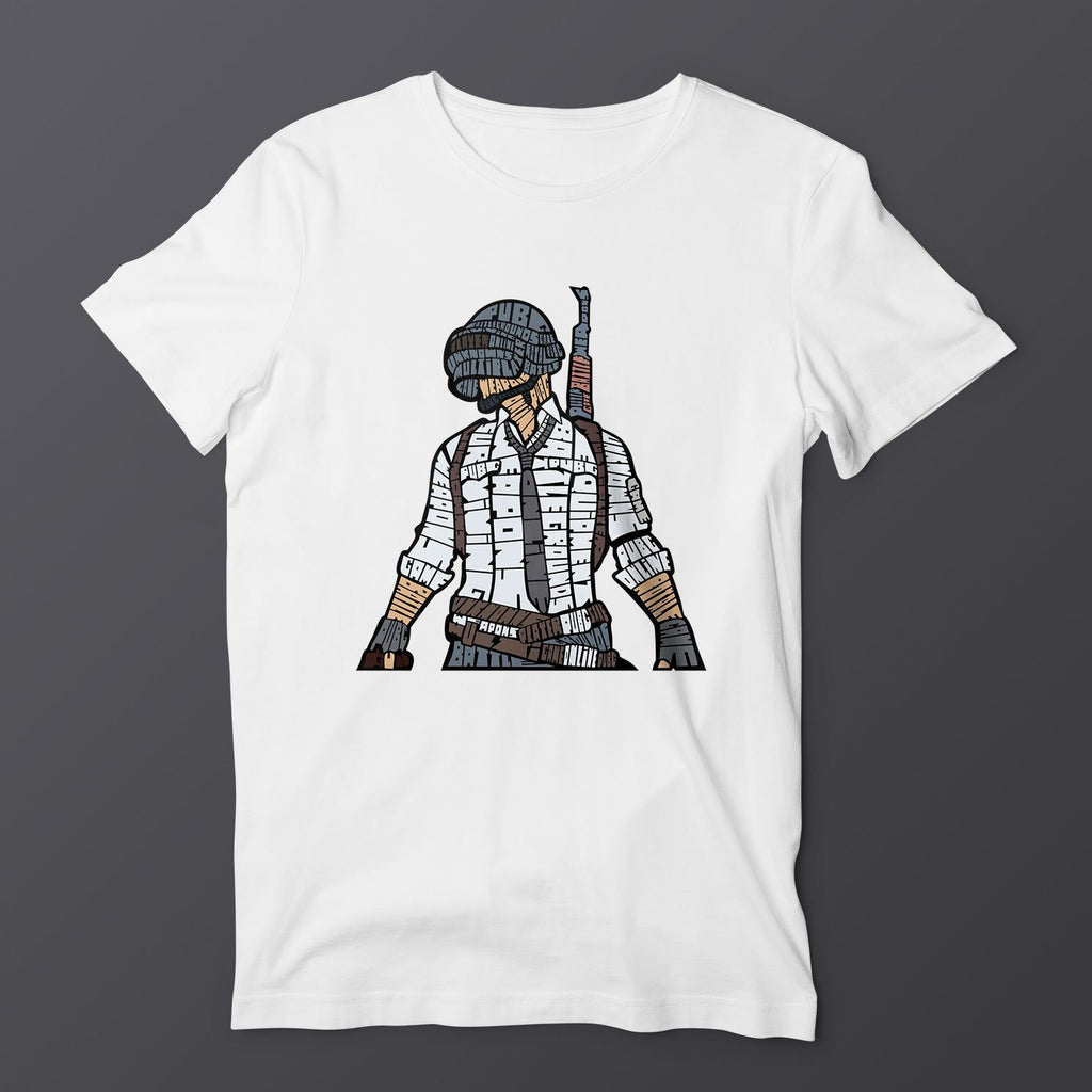 Pubg T-Shirt T-Shirts Hot Merch Small White