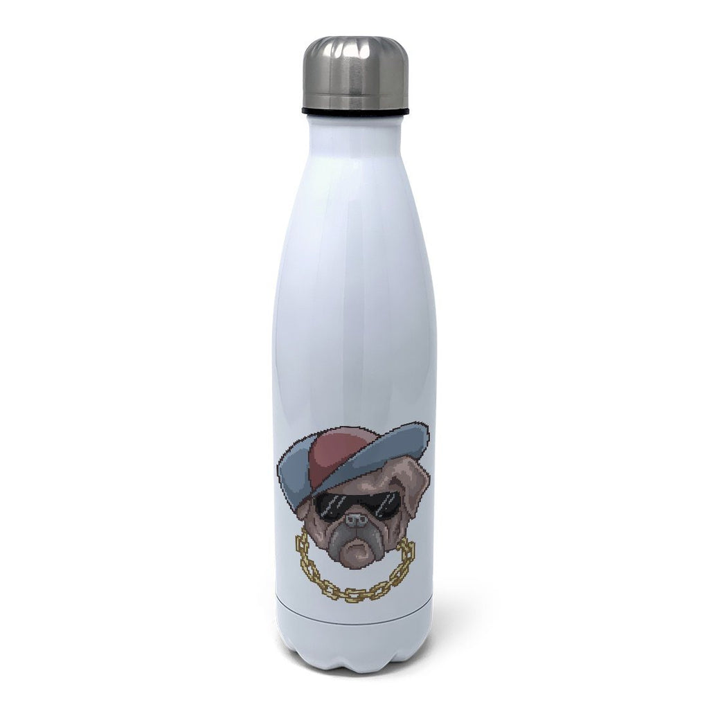 The Pug Life Insulated Water Bottle Insulated Water Bottles Hot Merch