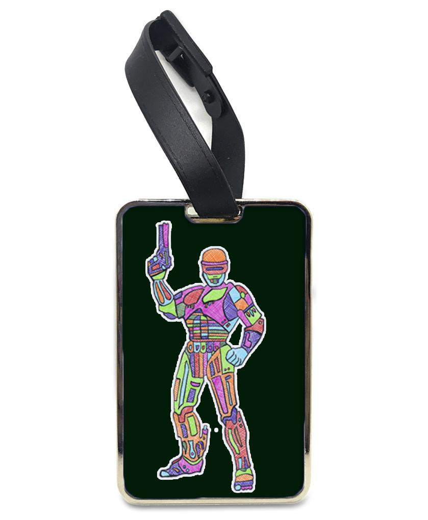 Dead or Alive You're Coming with Me - Rainbow Luggage and Bag Tag Bag Tag Hot Merch