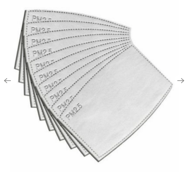 PM2.5 Filters - Pack of 10 Face Masks HotMerchUK