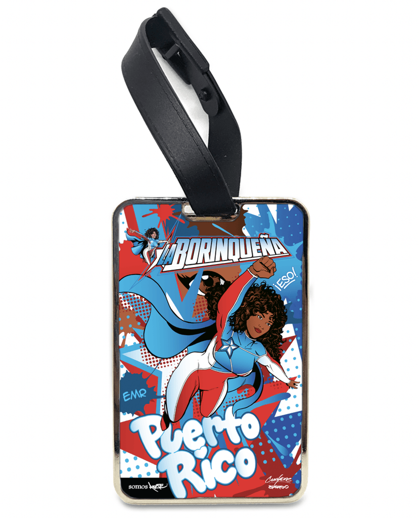 La Borinqueña X Crash One Graffiti Personalised Bag and Luggage Tag Bag Tag Hot Merch