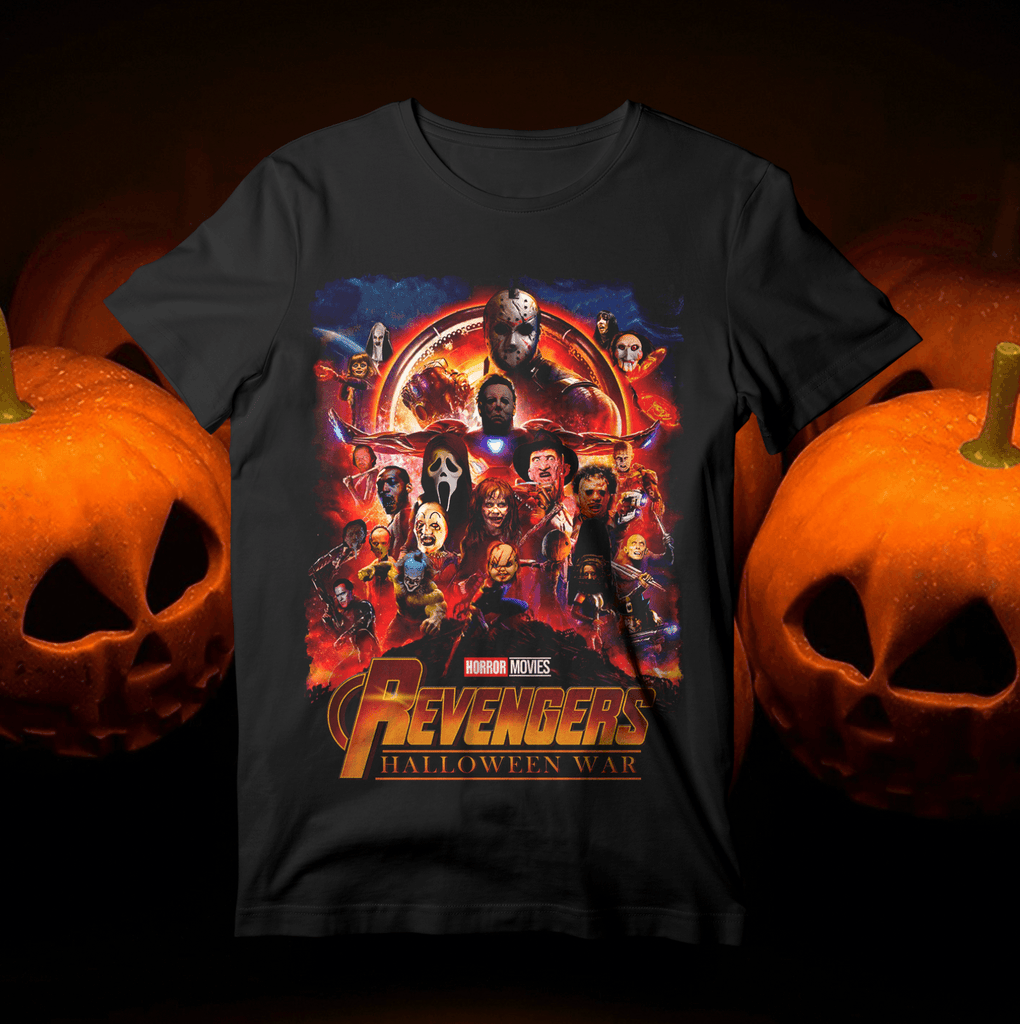 The Revengers - Limited Edition Halloween tee T-Shirts Hot Merch Small Black