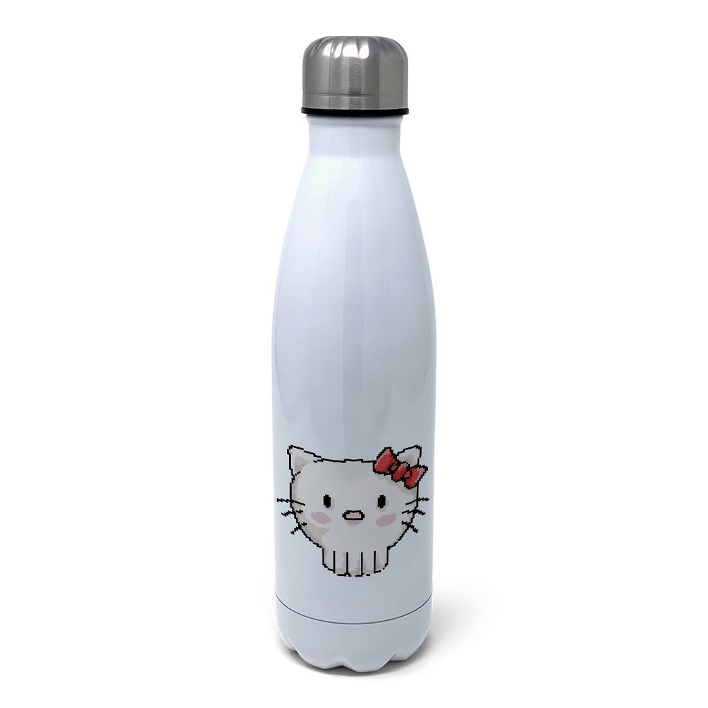 SkullKitty Insulated Water Bottle Insulated Water Bottles Hot Merch