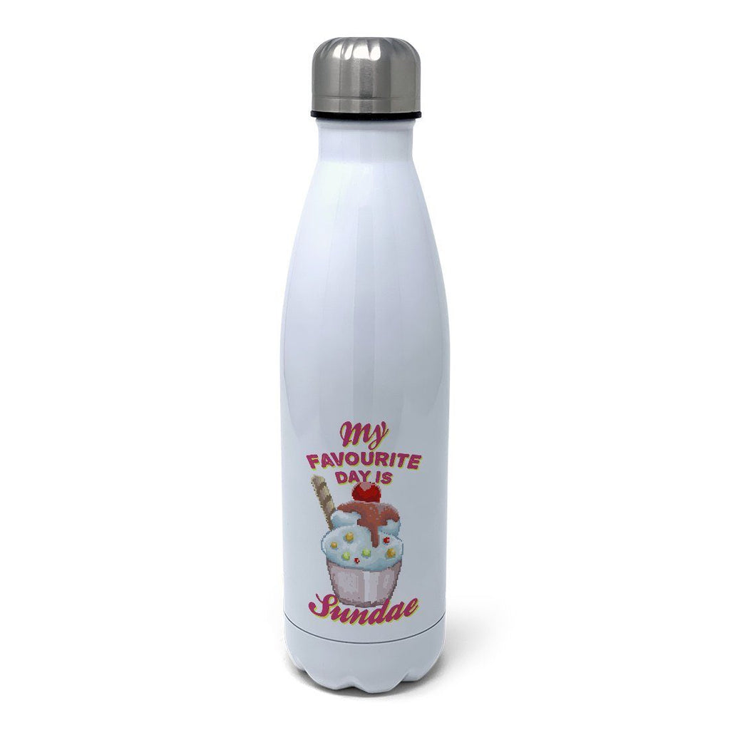 My Favourite Day is Sundae Insulated Water Bottle Insulated Water Bottles Hot Merch