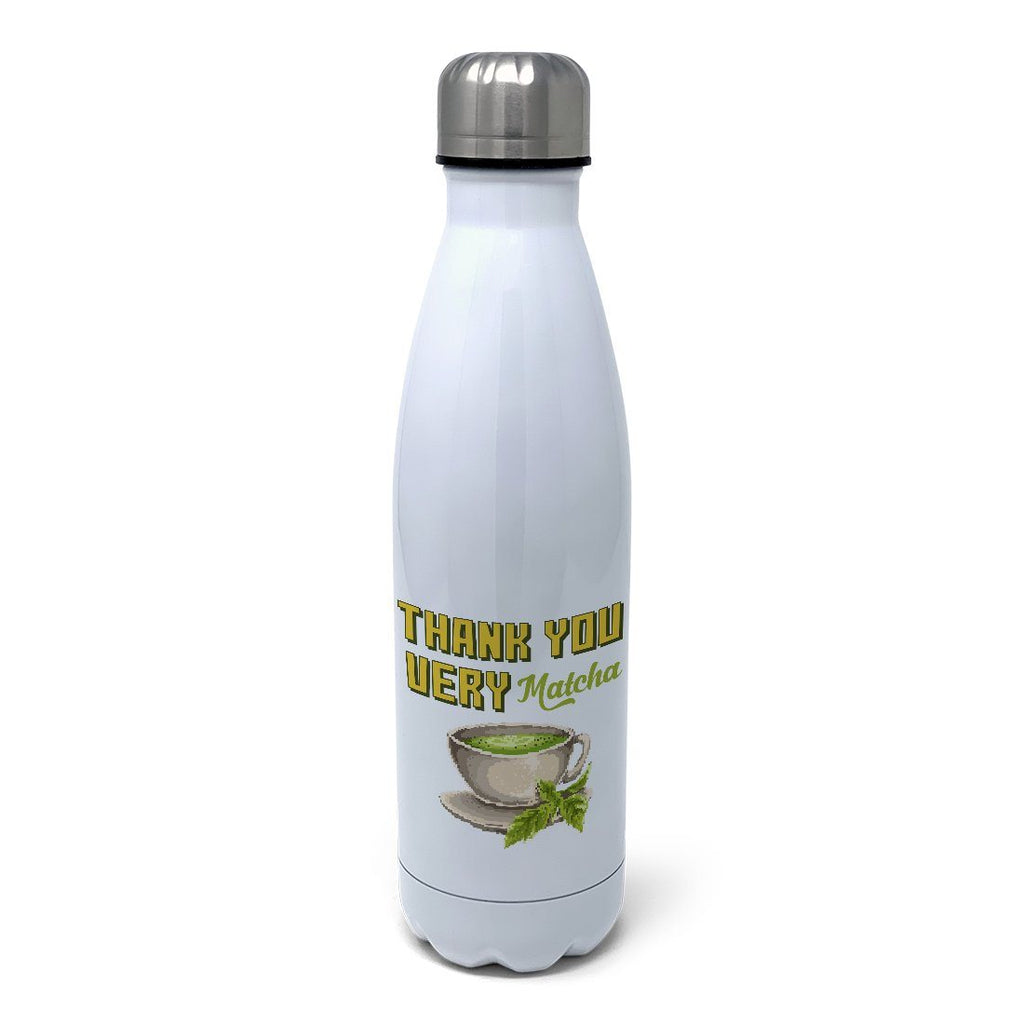 Thank You Very Matcha Insulated Water Bottle Insulated Water Bottles Hot Merch
