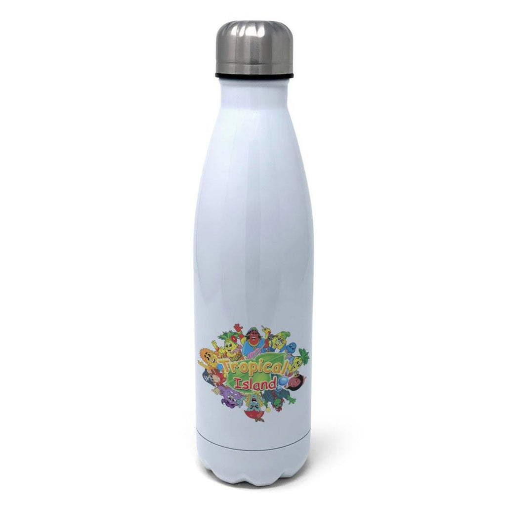 Tropical Island Personalised Insulated Water Bottle