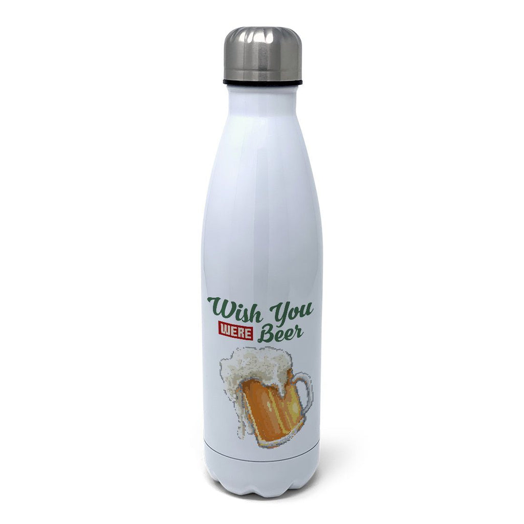 Wish You Were Beer Insulated Water Bottle Insulated Water Bottles Hot Merch