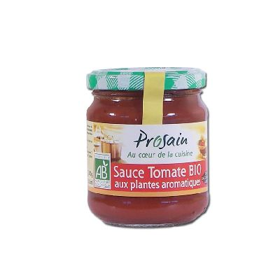 SAUCE TOMATE PLANTES AROMATIQUES 200G