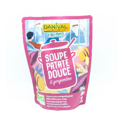 SOUPE PATATE DOUCE GINGEMBRE 50CL