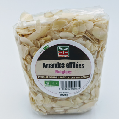 AMANDES EFFILEES ASBIO 250G