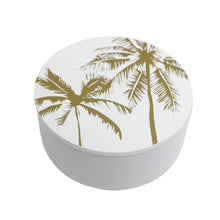 Load image into Gallery viewer, Gold Palm Trinket Box - Medium - Vida Style