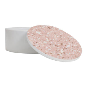 Pink Speckle Trinket Box - Medium - Vida Style