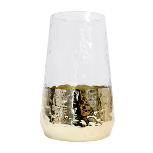 Gold Dipped Vase - Vida Style