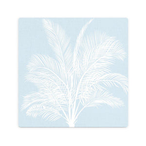 Blue Palm Ceramic Coaster - Vida Style